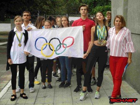 Олімпійський тиждень в СЗЗСО№1 ім. О.В.Суворова 2018