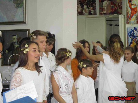 Малая Академия Наук. Открытие 26 октября 2018 г. Школа №1 , г. Измаил